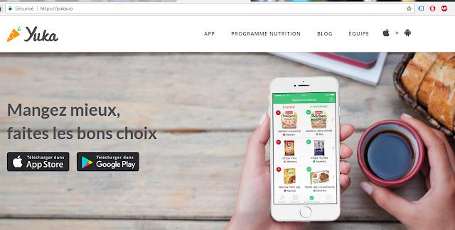 {Application} YUKA  Analyse de produits L'appli qui scanne votre alimentation