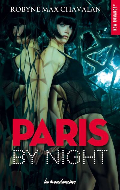 (Livre) Paris By Night de  Robyne Max chavalan